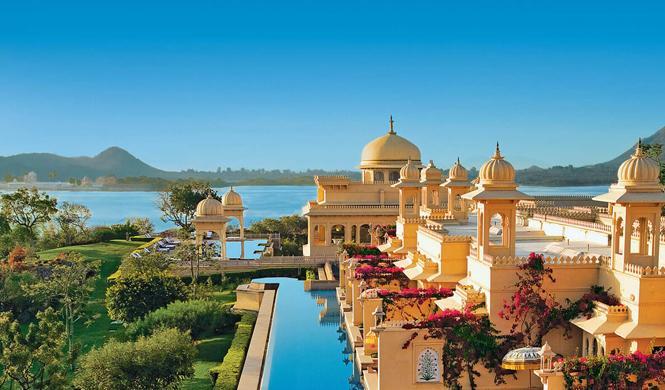 piscinas hotel impresionantes india
