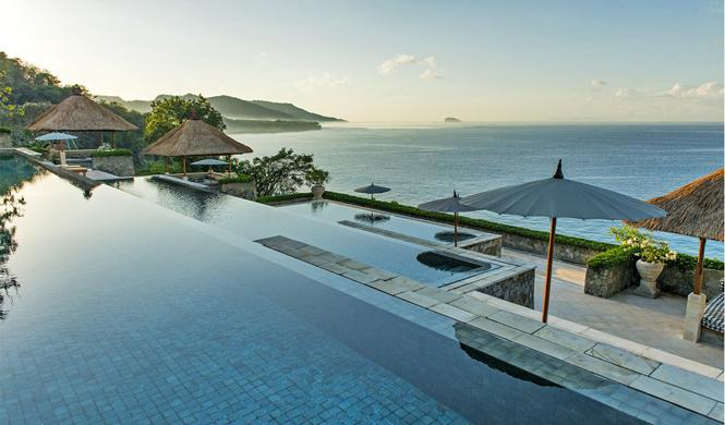 piscinas hotel impresionantes bali