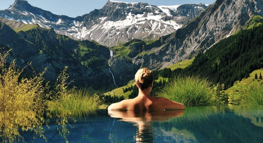piscinas hotel impresionantes suiza