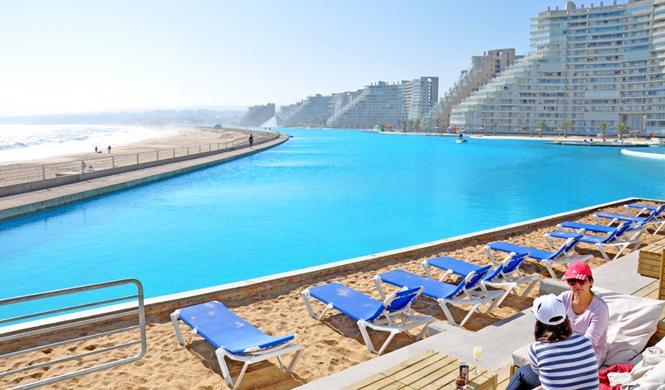 piscinas hotel impresionantes chile
