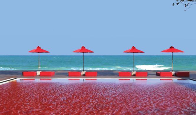 piscinas hotel impresionantes tailandia