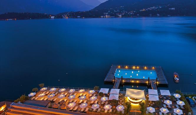piscinas hotel impresionantes italia