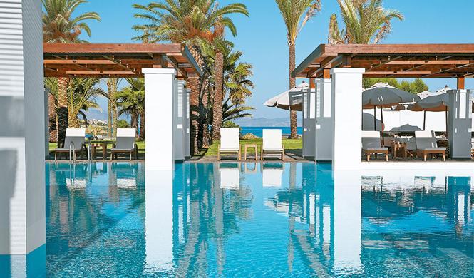 piscinas hotel impresionantes grecia