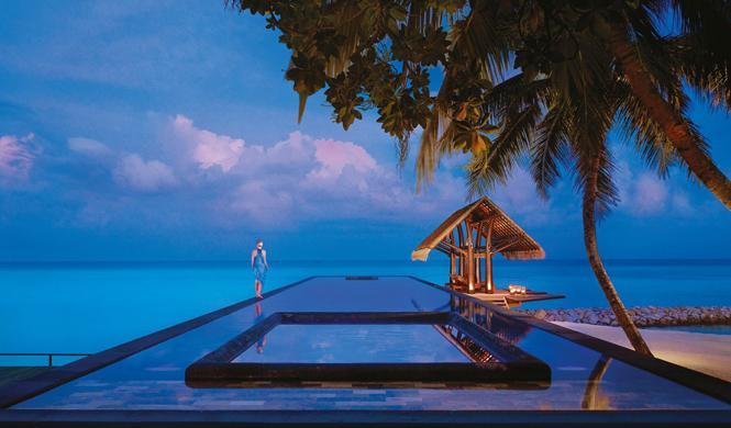 piscinas hotel impresionantes maldivas