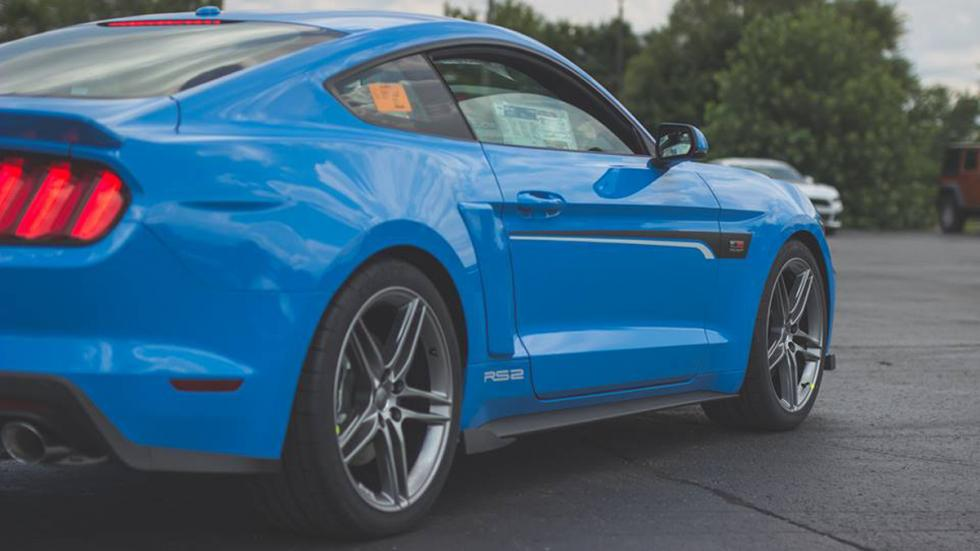 Roush RS Mustang lateral