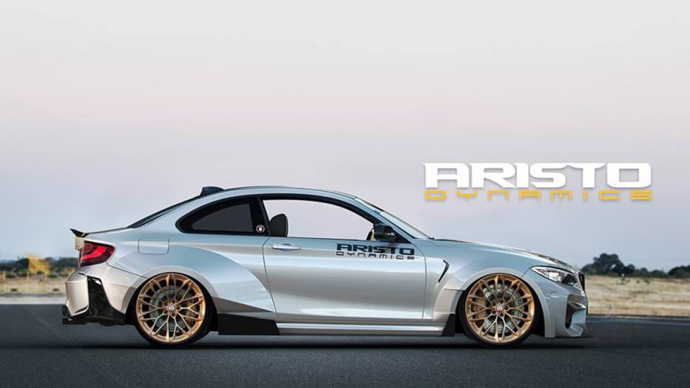 BMW M2 Aristo Dynamics lateral