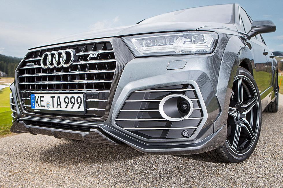 Prueba tuning: Abt-Audi QS7