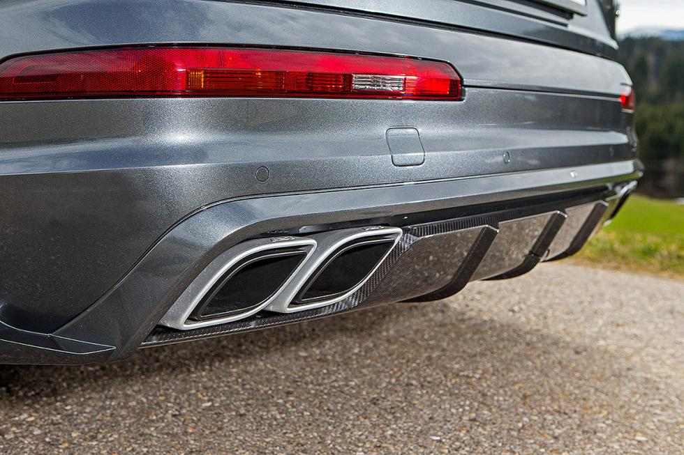 Prueba tuning: Abt-Audi QS7 detalle