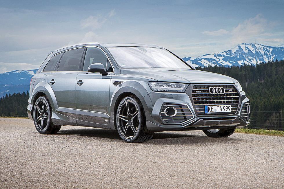 Prueba tuning: Abt-Audi QS7 detalle morro