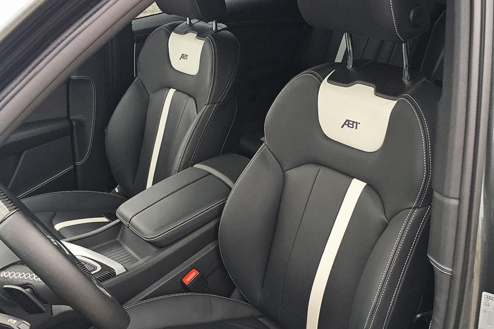 Prueba tuning: Abt-Audi QS7 detalle asientos