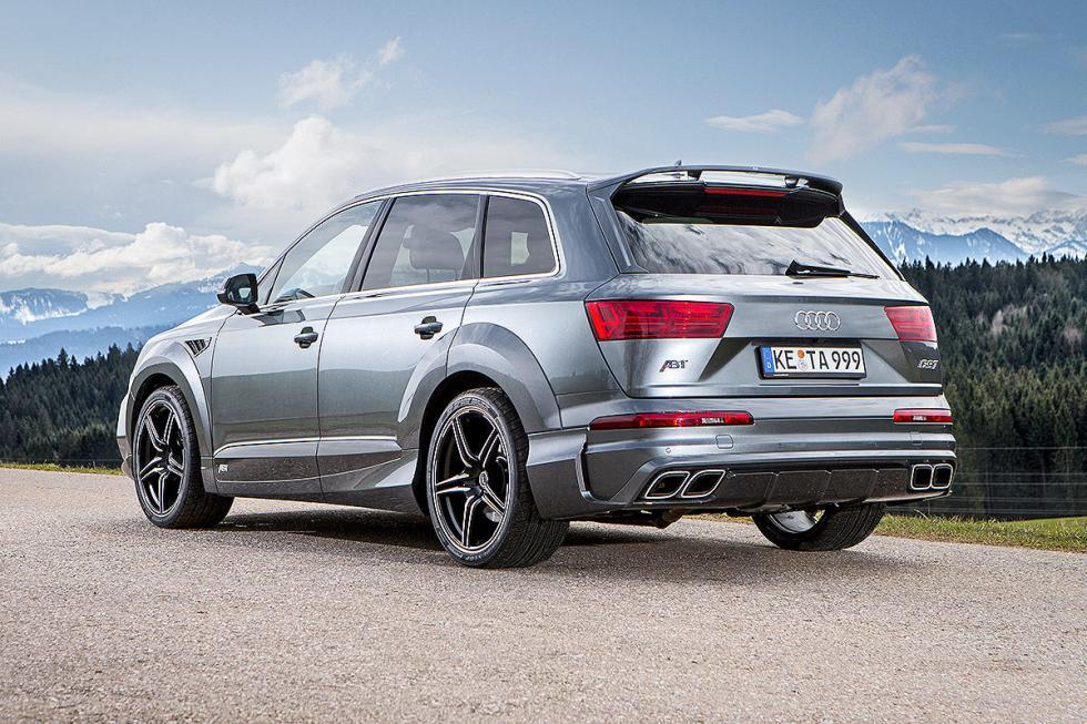 Prueba tuning: Abt-Audi QS7 detalle zaga