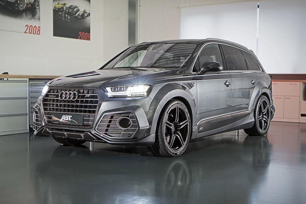 Prueba tuning: Abt-Audi QS7 detalle faros