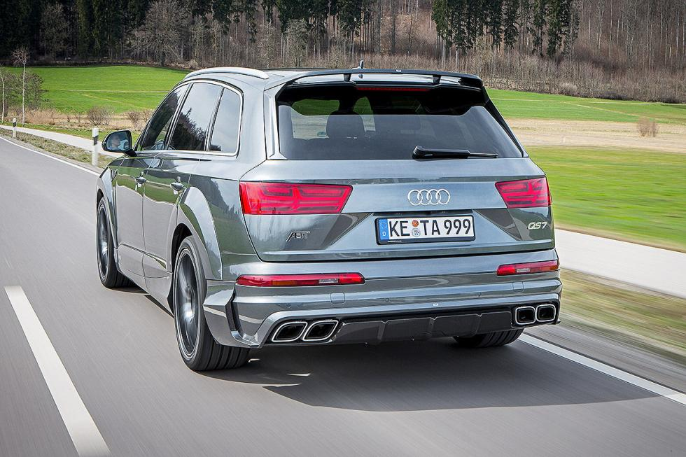 Prueba tuning: Abt-Audi QS7 detalle faros zaga
