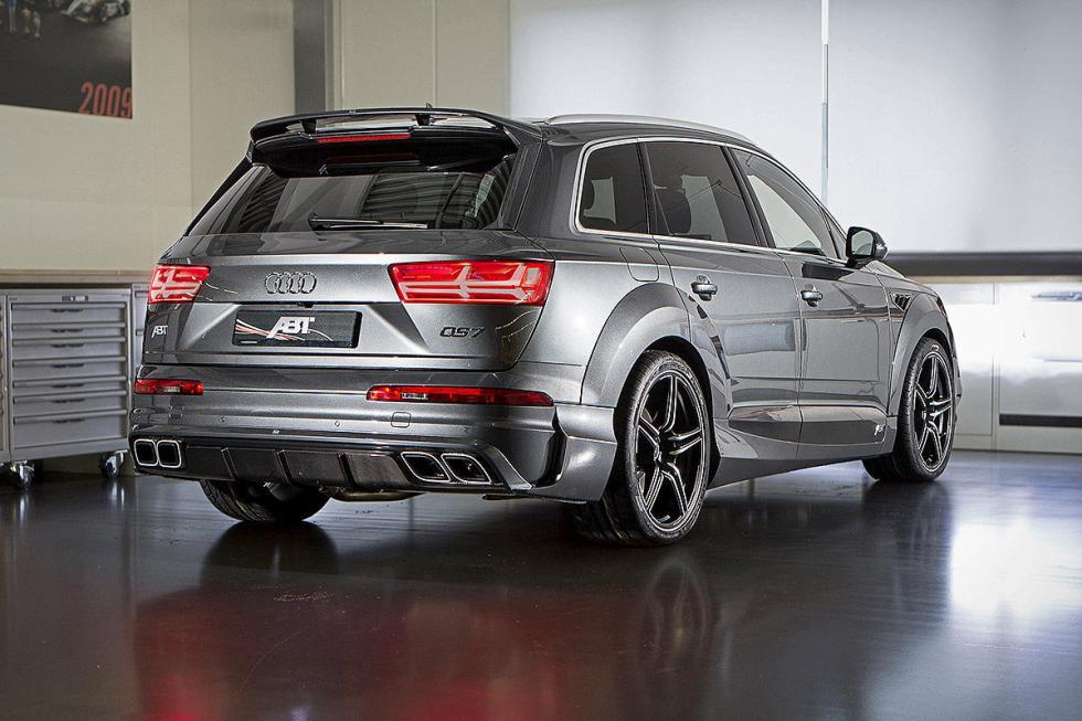 Prueba tuning: Abt-Audi QS7 detalle pilotos