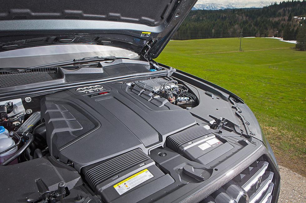 Prueba tuning: Abt-Audi QS7 detalle motor