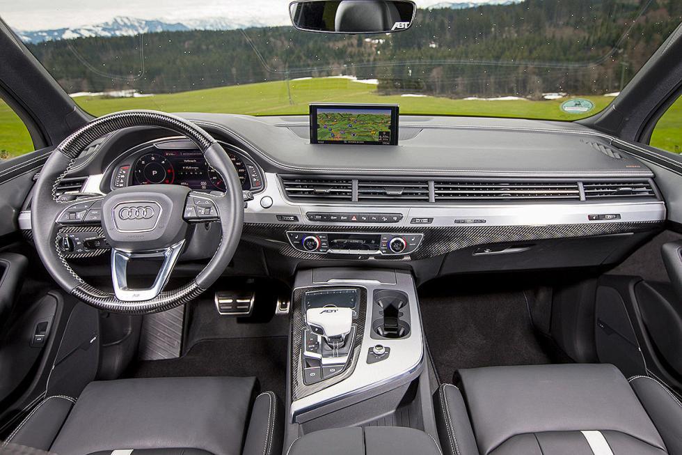 Prueba tuning: Abt-Audi QS7 interior