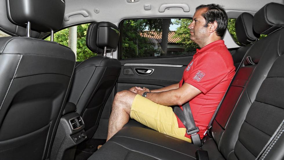 Renault Talisman asientos traseros