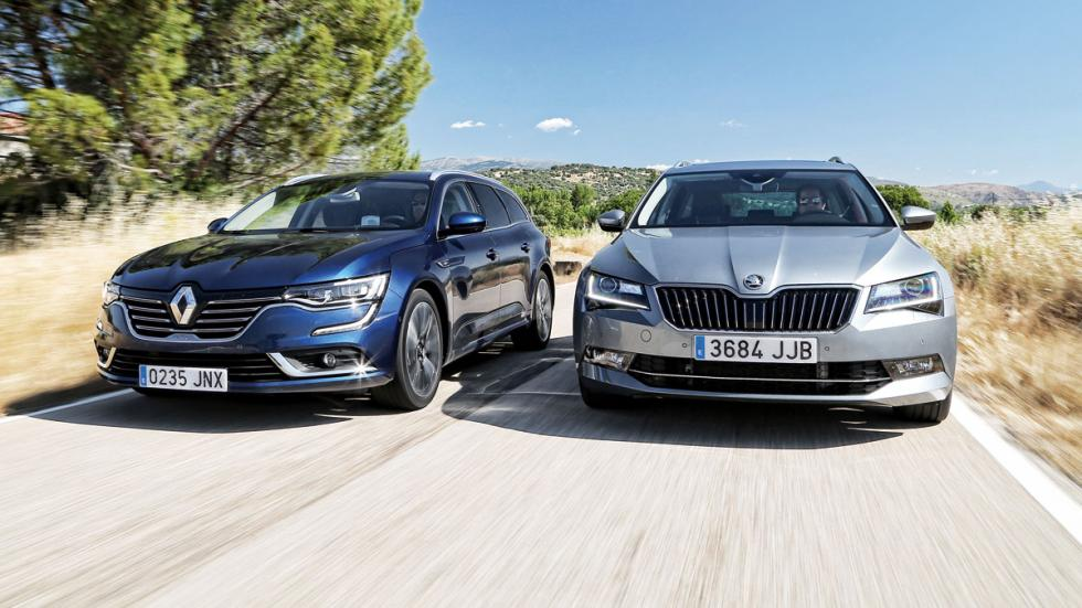 Renault Talisman vs Skoda Superb