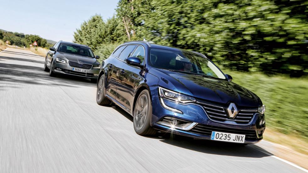 Renault Talisman vs Skoda Superb dinamica