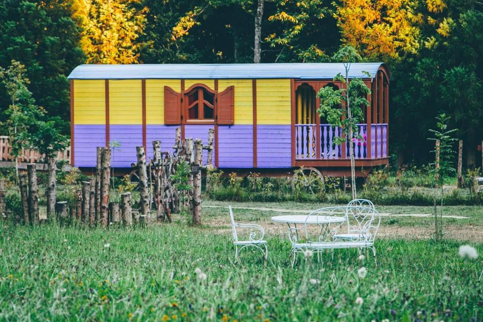 Hoteles para viajar con niños: Cabañas en los árboles (Vizcaya)