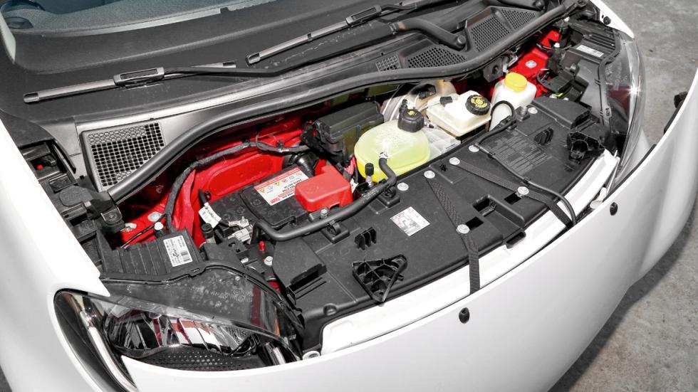 Smart Fortwo Cabrio motor