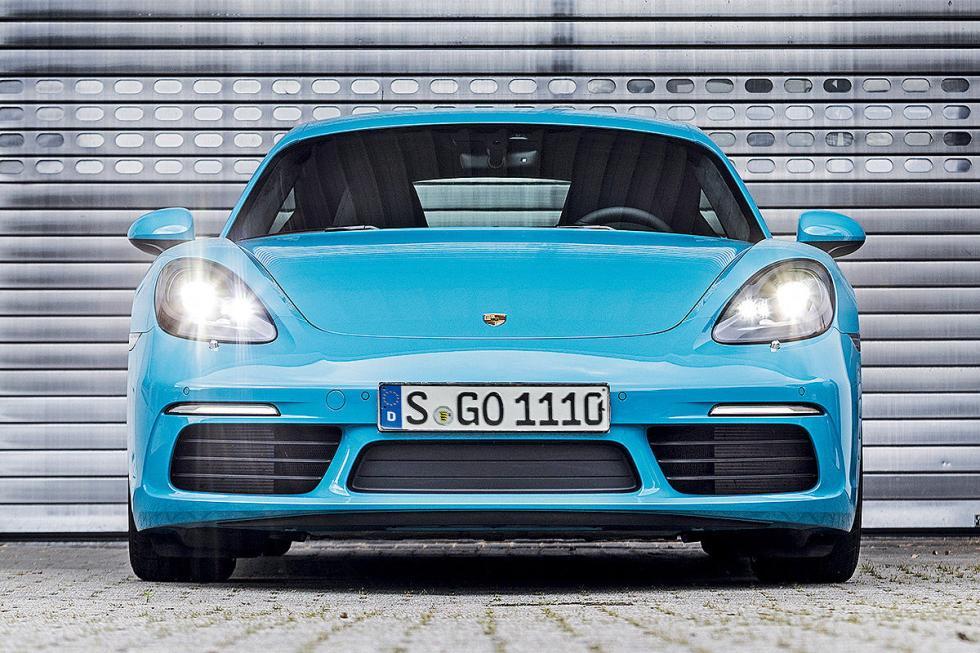Porsche 718 Cayman S morro