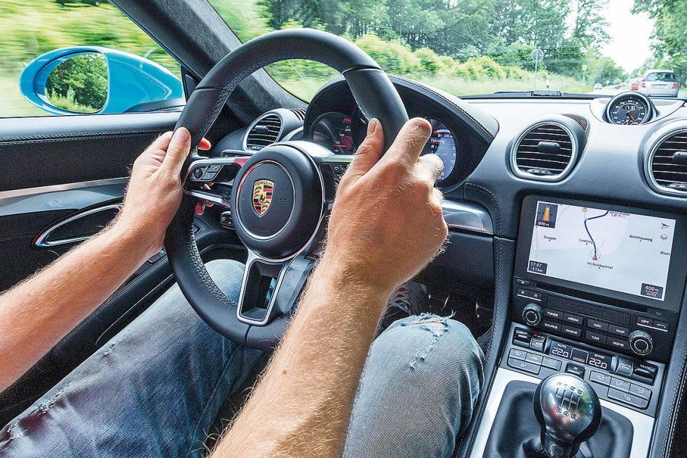 Porsche 718 Cayman S volante