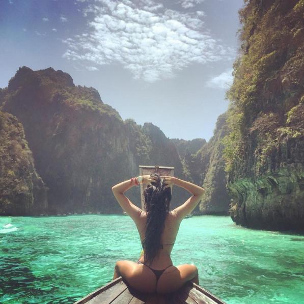 Aurah Ruiz, la novia de Jesé. Foto: Instagram