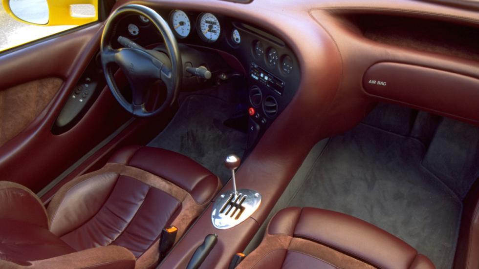Lamborghini Cala interior