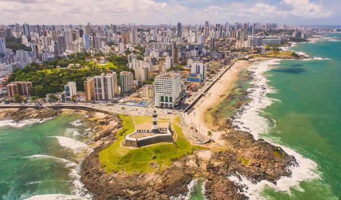 mejores destinos brasil salvador