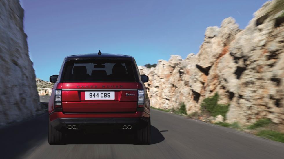 Range Rover SVAutobiography Dynamic trasera