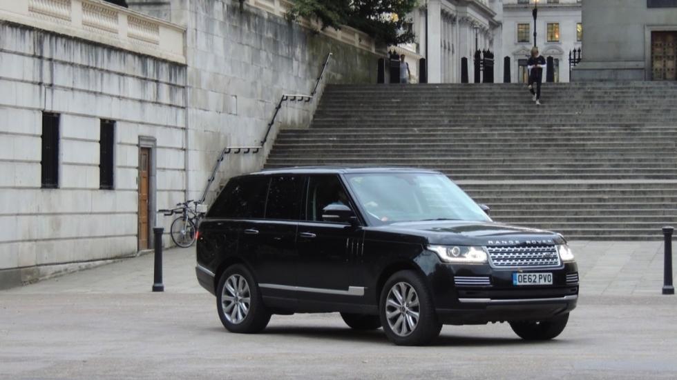 Range Rover del Príncipe Guillermo de Inglaterra