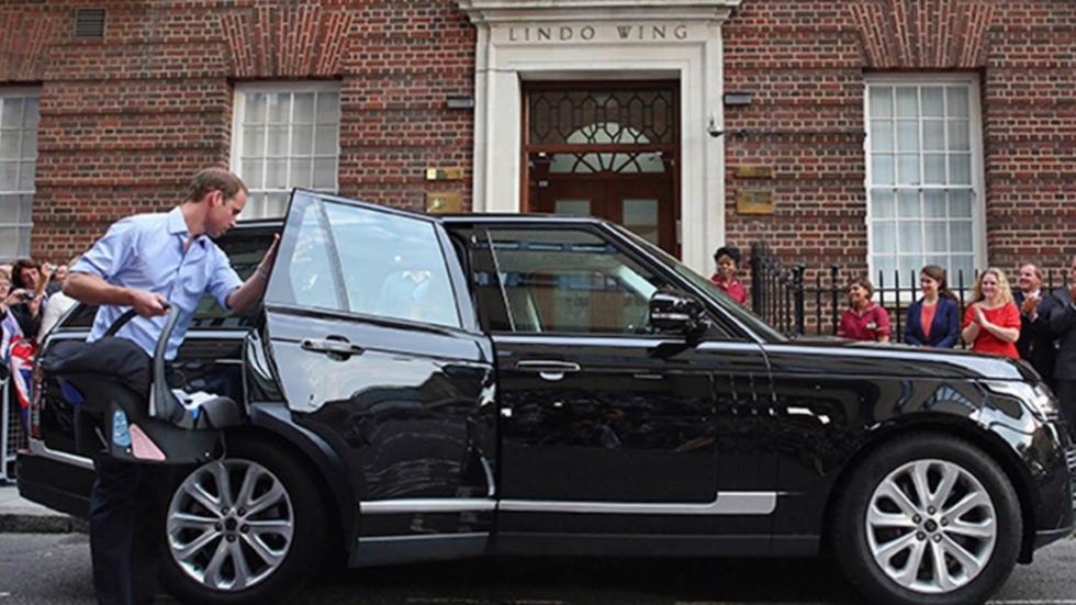 Range Rover del Príncipe Guillermo de Inglaterra 3