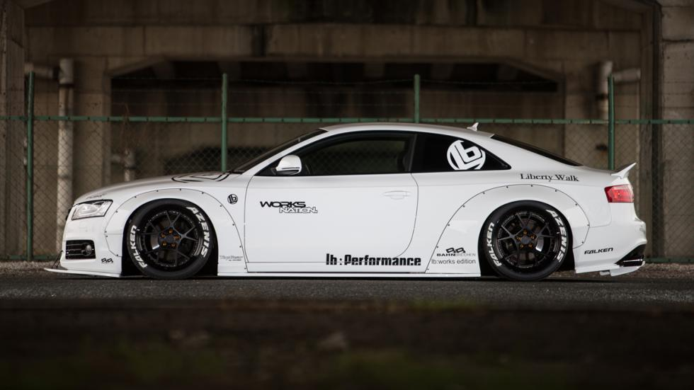 Audi A5 de Liberty Walk lateral