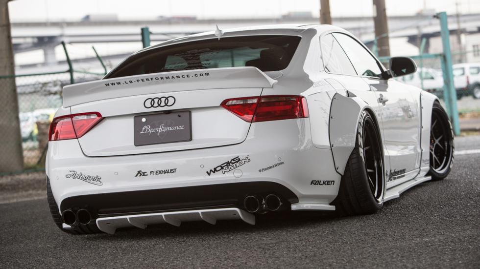 Audi A5 de Liberty Walk trasera