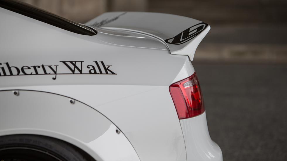 Audi A5 de Liberty Walk alerón
