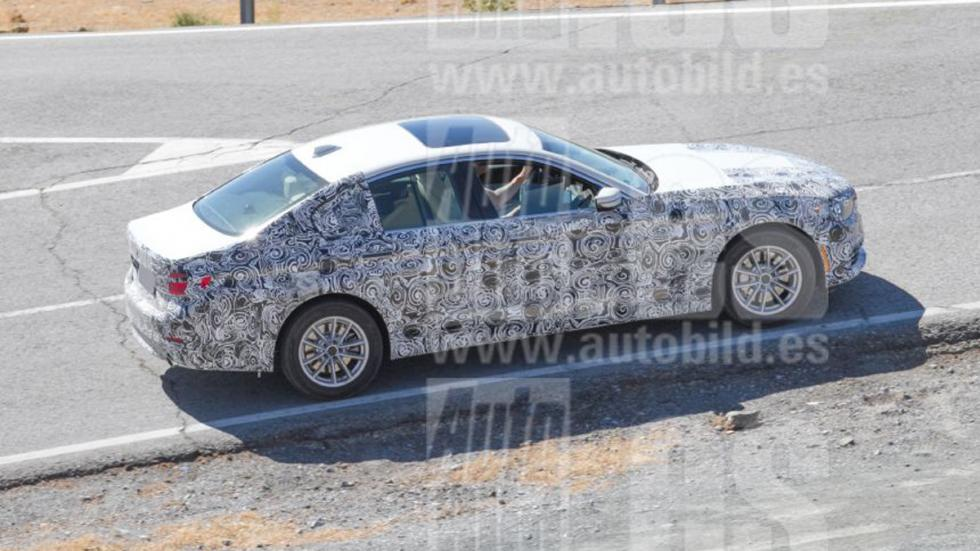 BMW Serie 5 iPerformance 2017 perfil