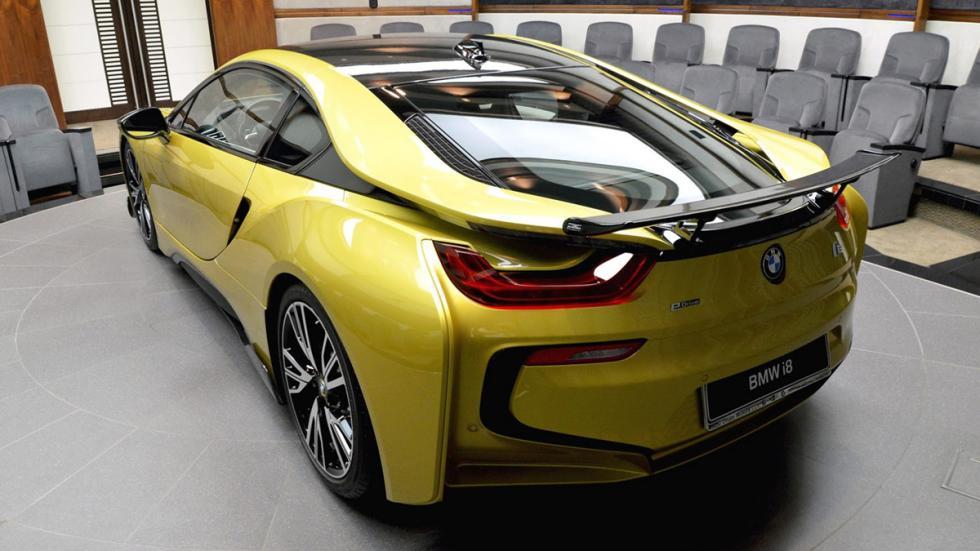 BMW i8 AC Schnitzer Amarillo Austin metalizado trasera
