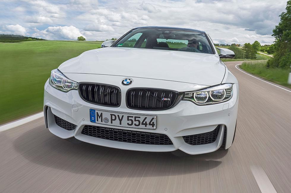 Prueba radical: BMW M4 Competition morro