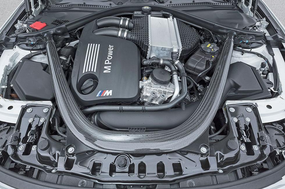 Prueba radical: BMW M4 Competition morro motor