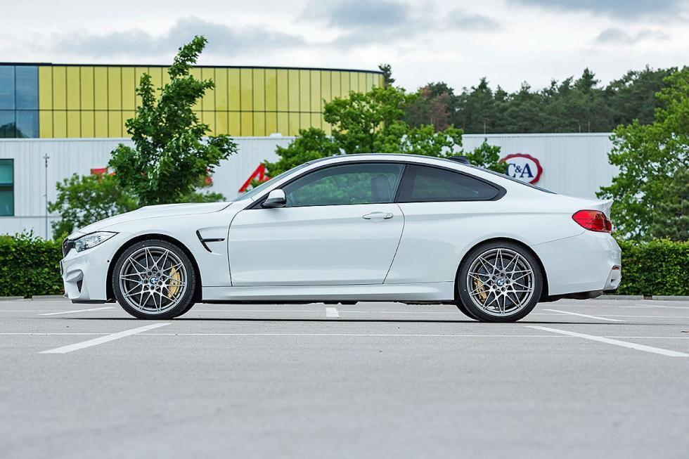 Prueba radical: BMW M4 Competition lateral