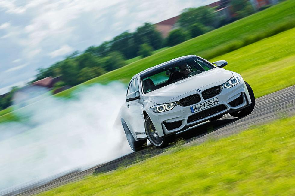 Prueba radical: BMW M4 Competition lateral drift