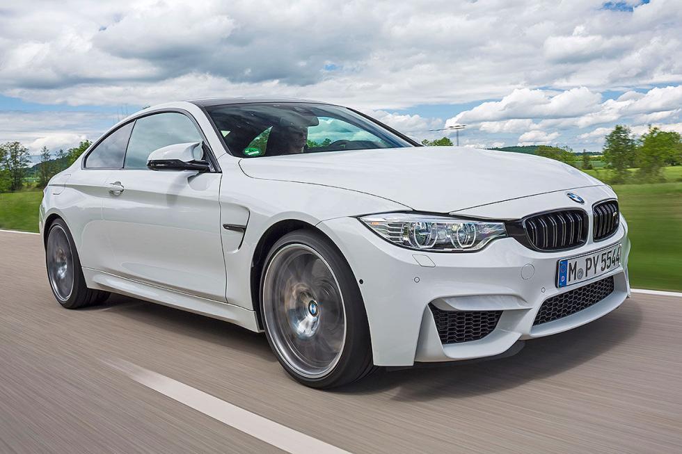 Prueba radical: BMW M4 Competition detalle morro