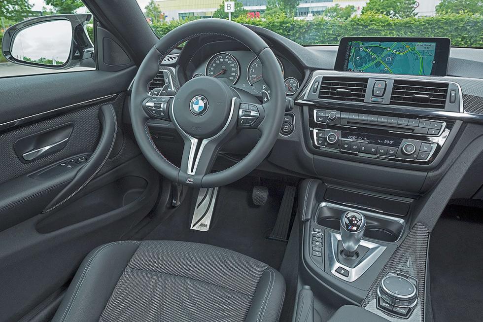 Prueba radical: BMW M4 Competition detalle interior