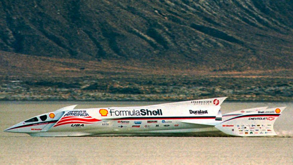 Spirit of America Formula Shell