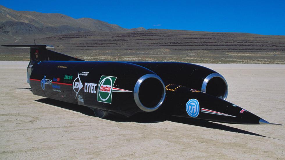 Thrust SSC coche mas rapido del mundo
