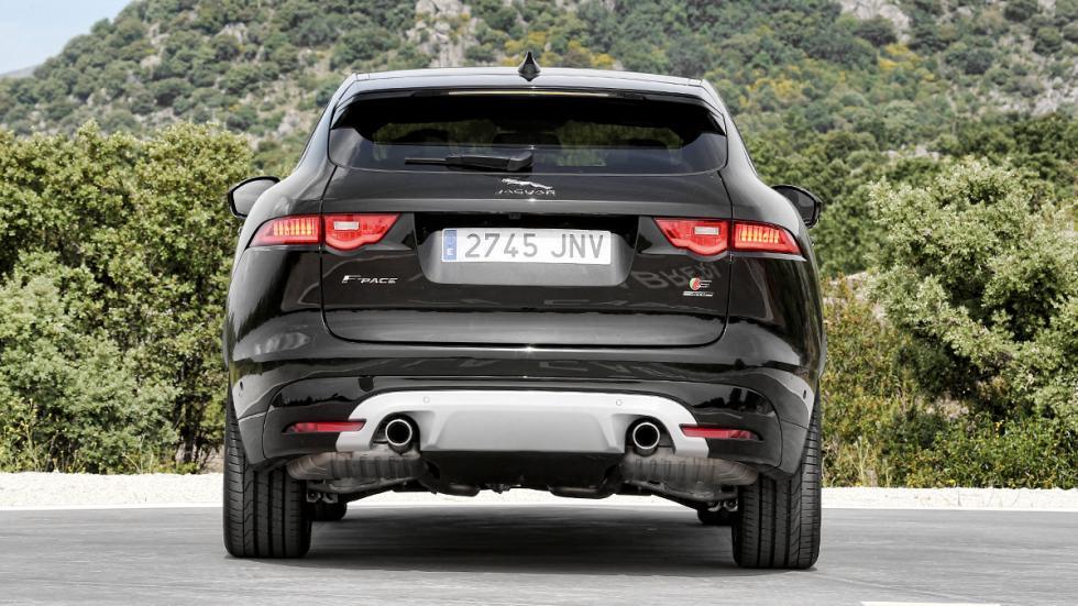 Prueba Jaguar F-Pace 3.0 TDV6 AWD S zaga