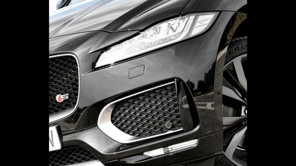 Prueba Jaguar F-Pace 3.0 TDV6 AWD S faro