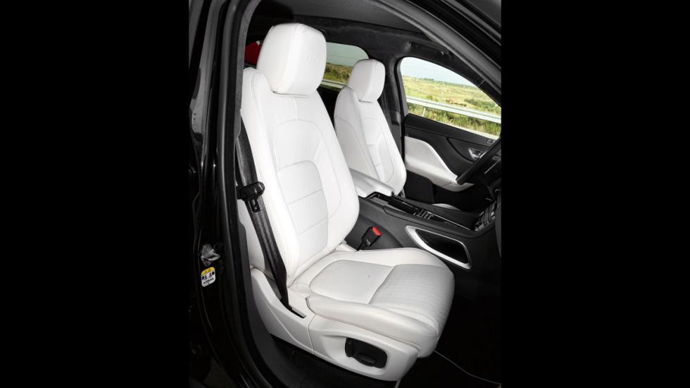 Prueba Jaguar F-Pace 3.0 TDV6 AWD S asiento