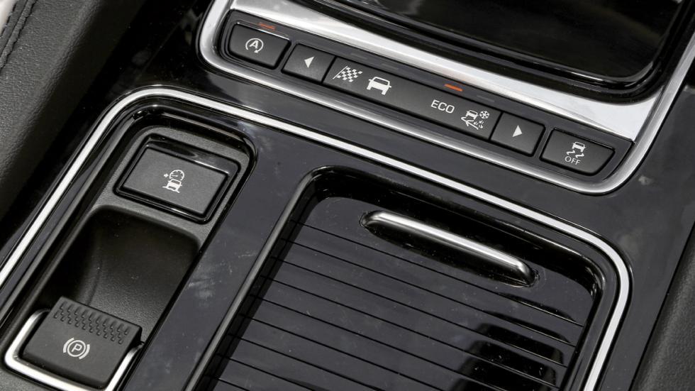 Prueba Jaguar F-Pace 3.0 TDV6 AWD S botones